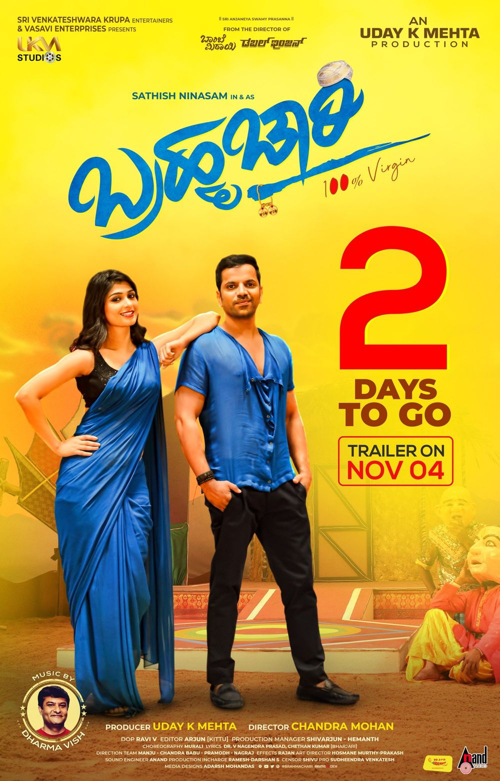 Brahmachari 2019 Kannada 415MB HDRip Download