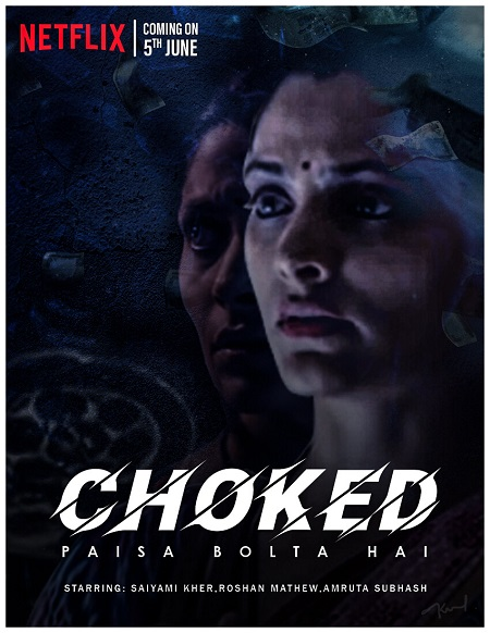 Choked Paisa Bolta Hai 2020 Hindi 720p NF HDRip 800MB ESubs Download