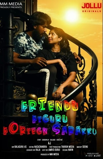 18+ Friend Figure Foreign Sarakku 2020 S01EP1 Tamil Jolluapp Web Series 720p HDRip 200MB x264 AAC