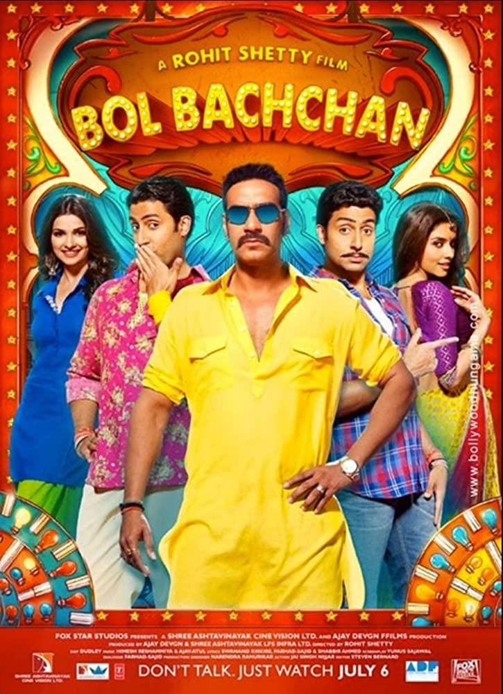 Bol Bachchan 2012 Hindi Movie 450MB BluRay ESub Download
