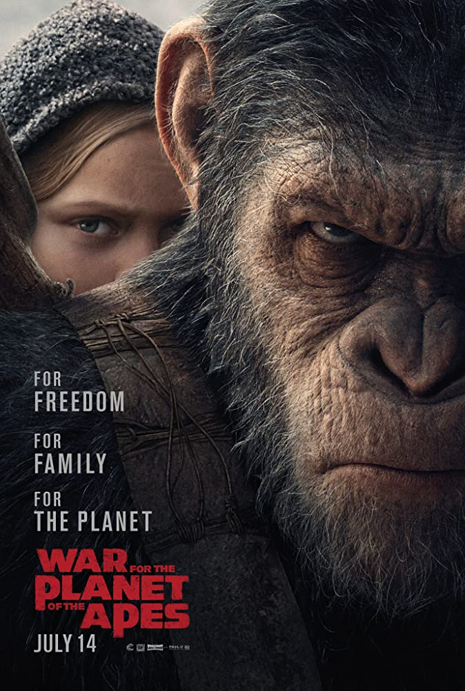 War for the Planet of the Apes (2017) Dual Audio Hindi 500MB BluRay 480p ESubs