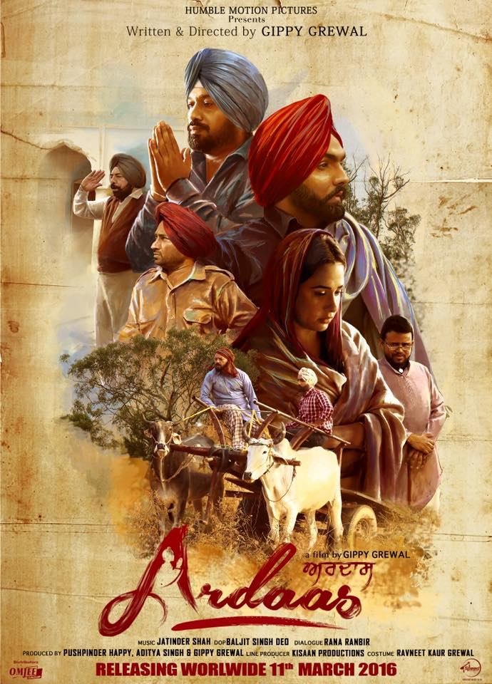 Ardaas (2016) Punjabi Movie 720p HDRip x264 ESubs 900MB