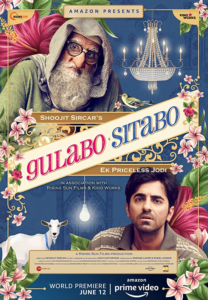 Gulabo Sitabo (2020) Hindi Movie 480p HDRip x264 ESubs 400MB