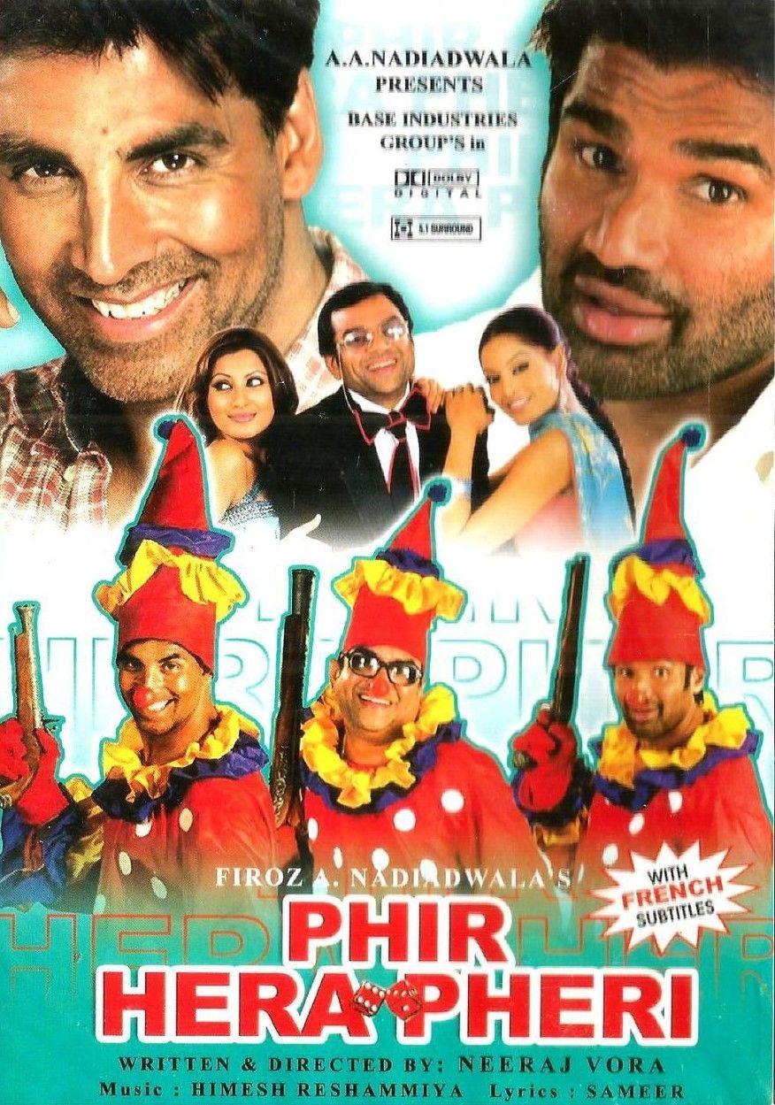 Phir Hera Pheri 2006 Hindi 720p HDRip ESub 1.3GB Download
