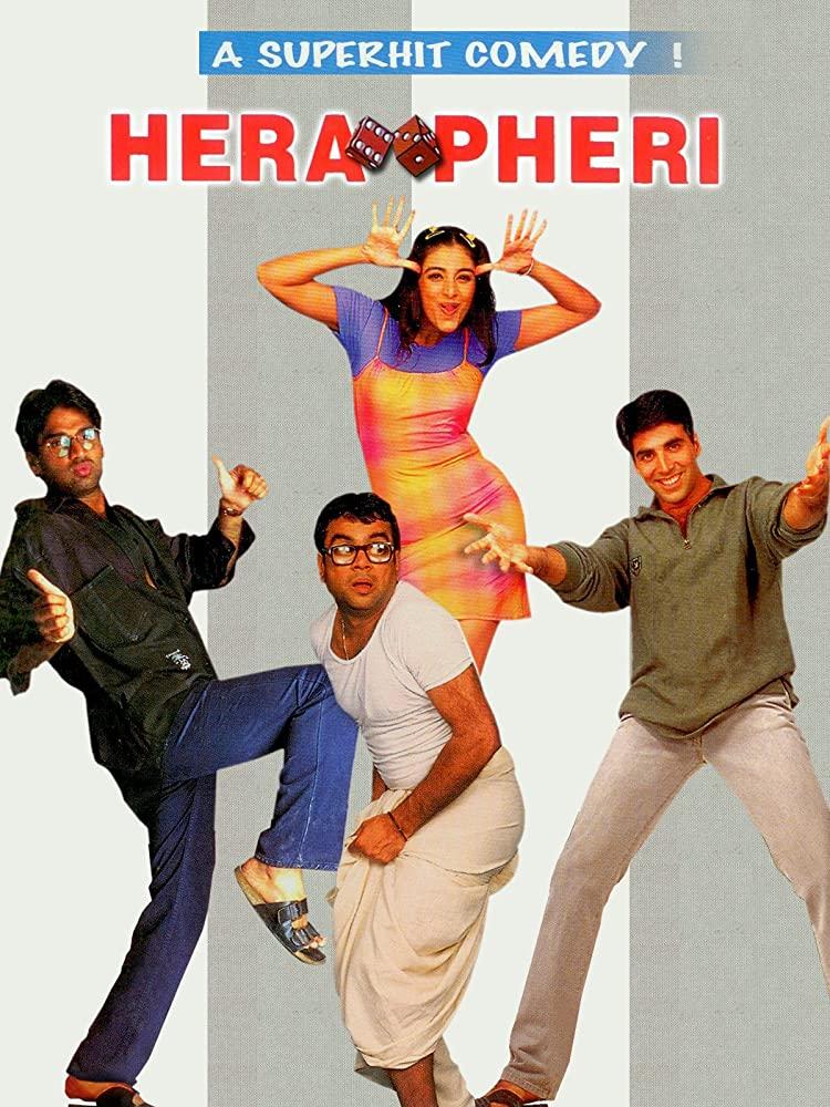 Hera Pheri 2000 Hindi 720p BluRay ESub 1.4GB Download