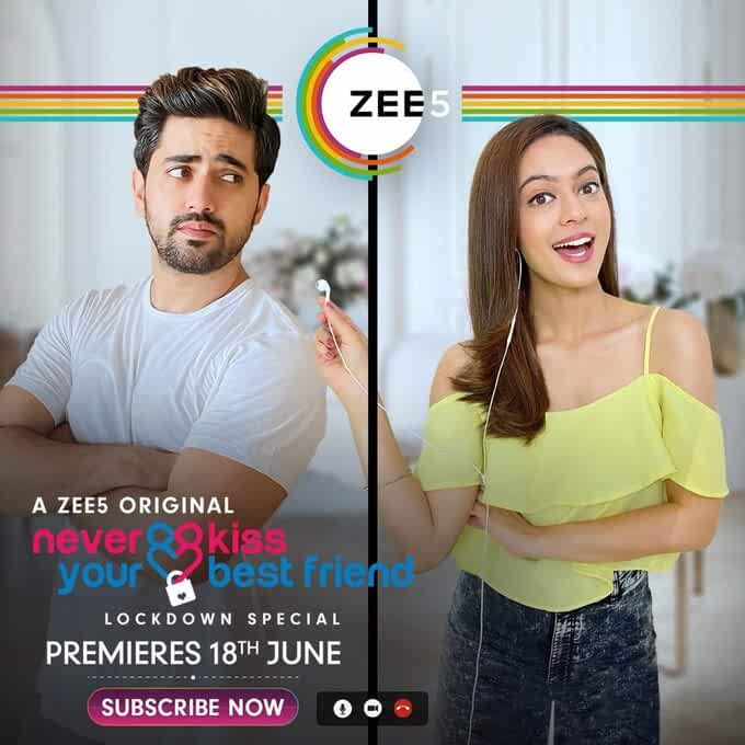 Never Kiss Your Best Friend (Lockdown Special) 2020 S01 Hindi Complete Zee5 Web Series 720p HDRip 525MB Download