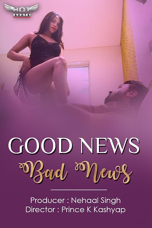 18+ Good News Bad News (2020) HotShots Originals Hindi Short Film 720p HDRip 150MB