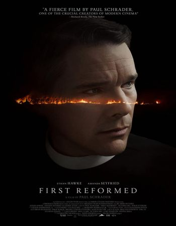 First Reformed 2017 Hindi Dual Audio 400MB BluRay x264 ESubs 480p