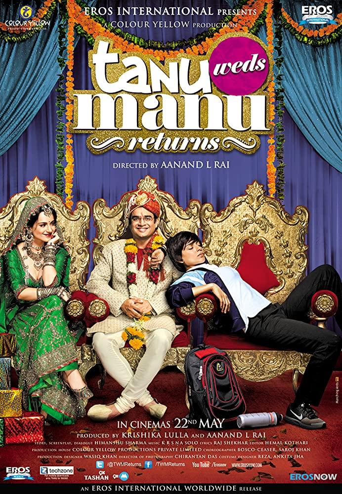 Tanu Weds Manu Returns (2015) Hindi Movie 720p BluRay 900MB ESub Download