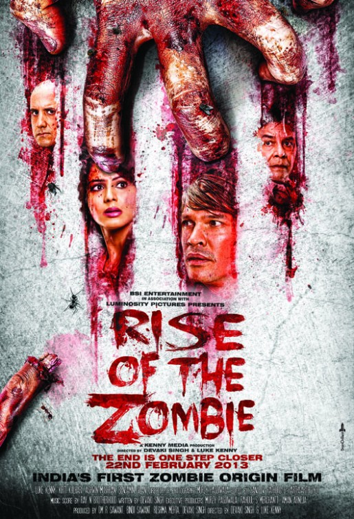 Rise Of The Zombie 2013 Hindi Movie 720p HDRip 600MB Download