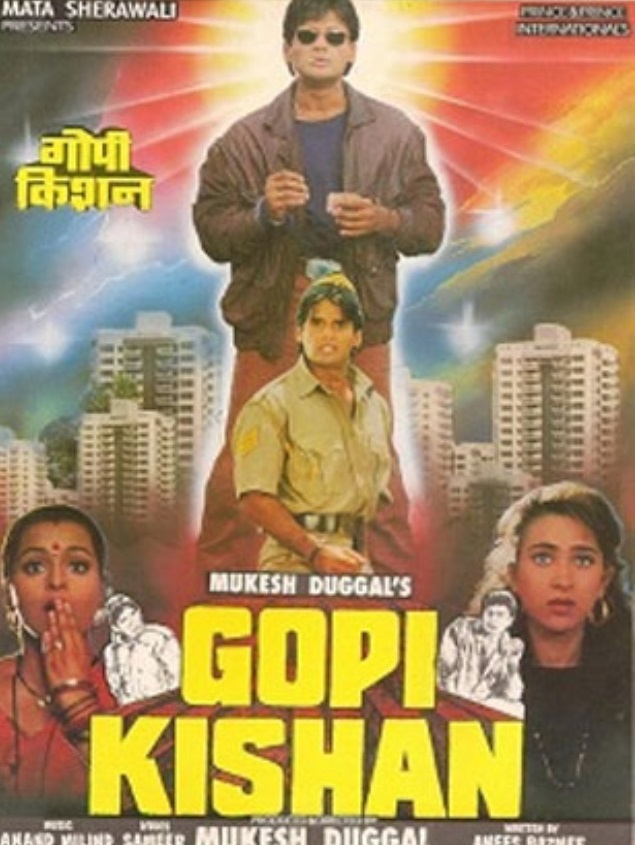 Gopi Kishan 1994 Hindi 500MB HDRip Download