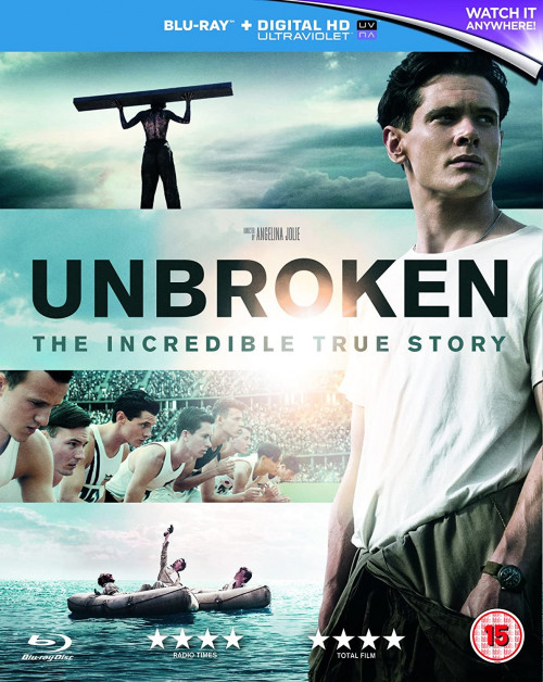 Unbroken (2014) Hindi ORG Dual Audio 720p BluRay ESubs 900MB