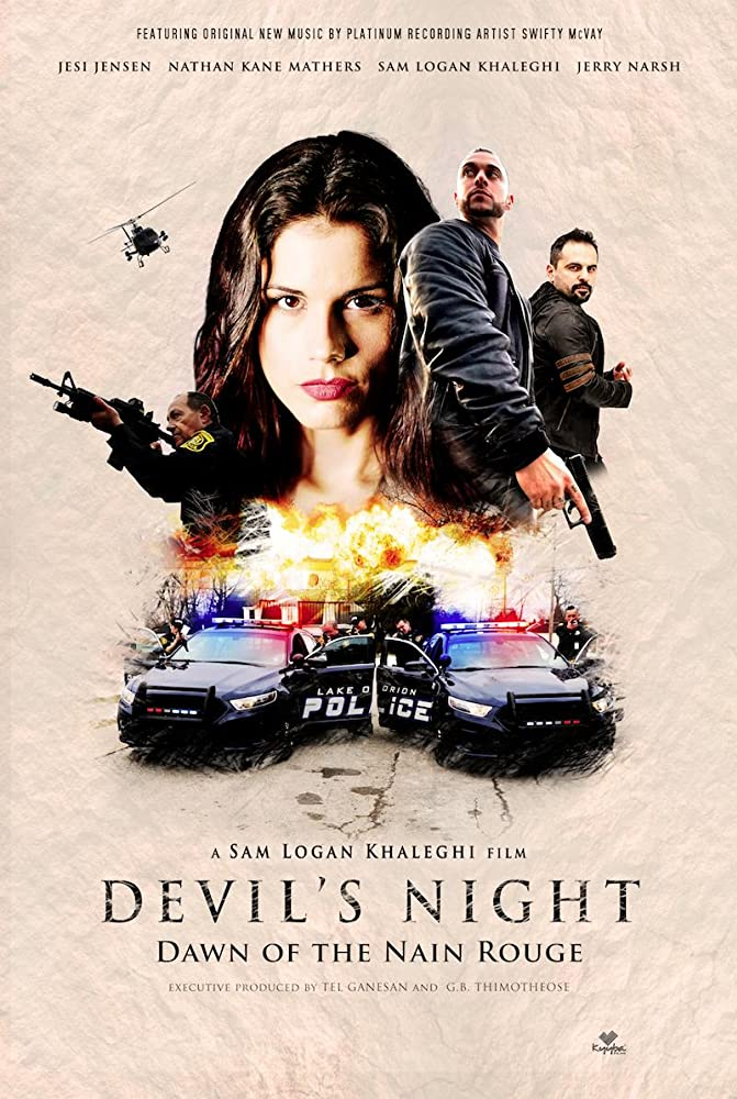 Devil's Night Dawn of the Nain Rouge 2020 HDRip English 300MB