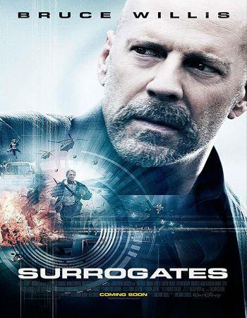 Surrogates 2009 Hindi Dual Audio 300MB BluRay x264 ESubs 480p