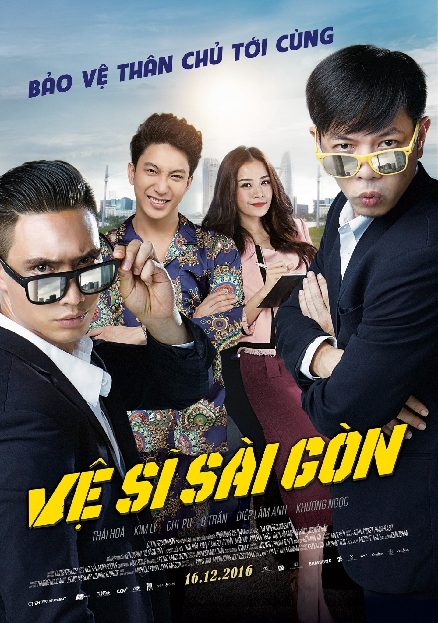 Saigon Bodyguards 2016 ORG Hindi Dubbed 350MB HDRip Download