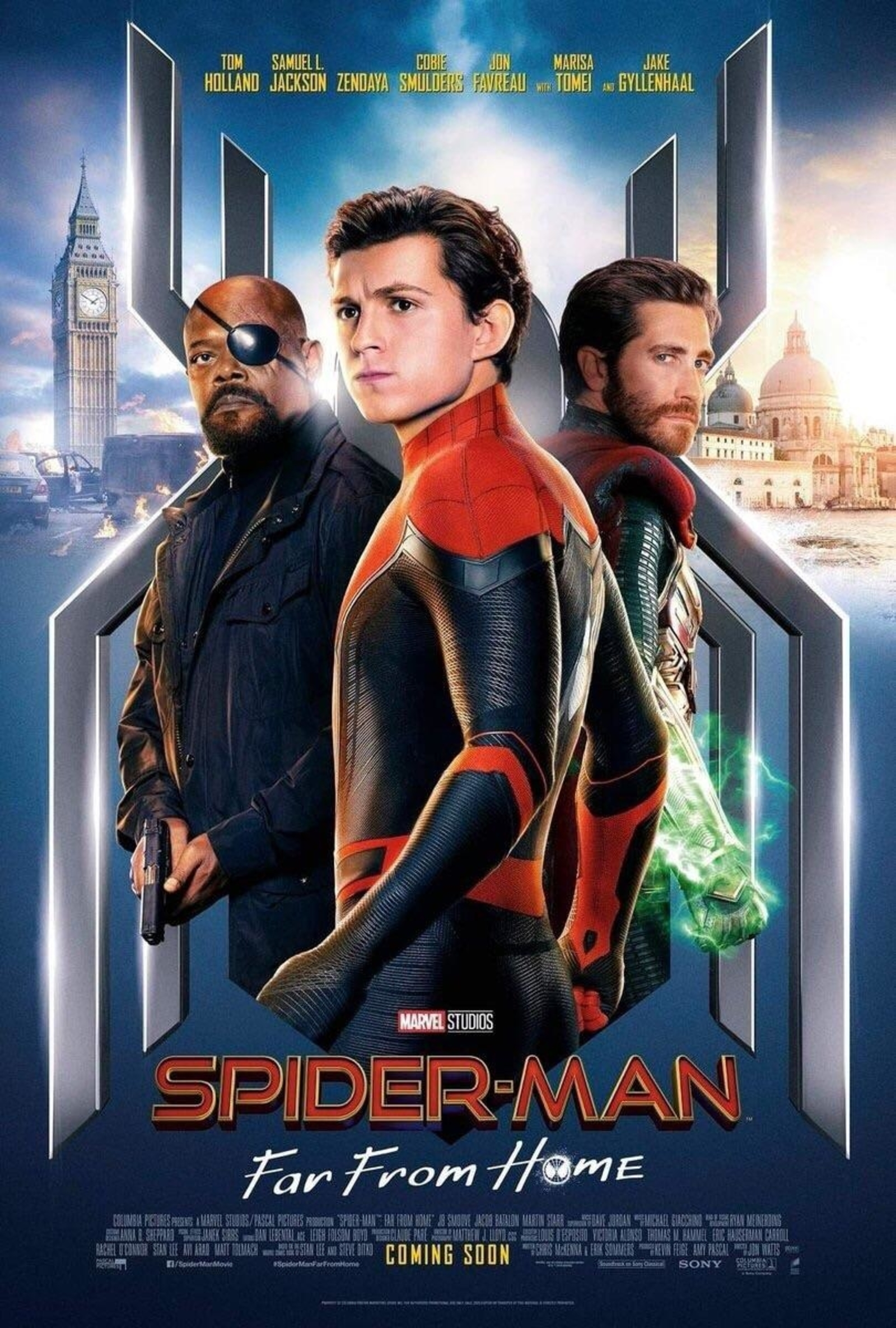 Spider Man Far from Home 2021 Bangla Dubbed Movie 720p HDRip 1GB x264 AAC *Sun Bangla Exclusive*