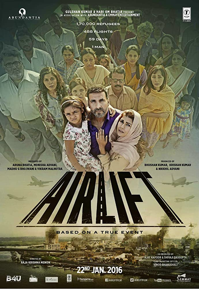 Airlift 2016 Hindi 720p BluRay 1.2GB ESubs