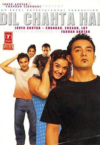 Dil Chahta Hai 2001 Hindi Movie 600MB BluRay ESub Download