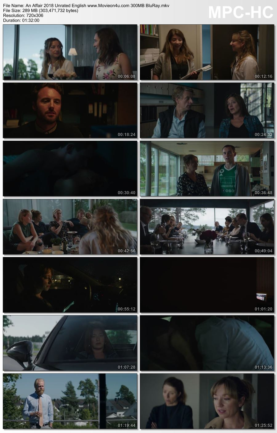 An Affair 2018 Unrated English 300MB BluRay x264 480p Download HD