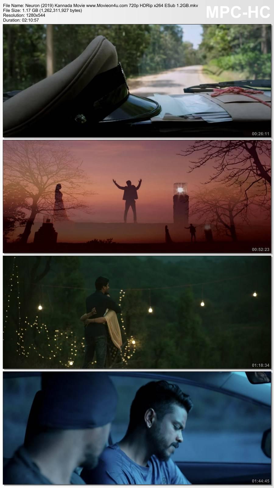 Neuron (2019) Kannada Movie 720p HDRip x264 ESub 1.2GB Download HD