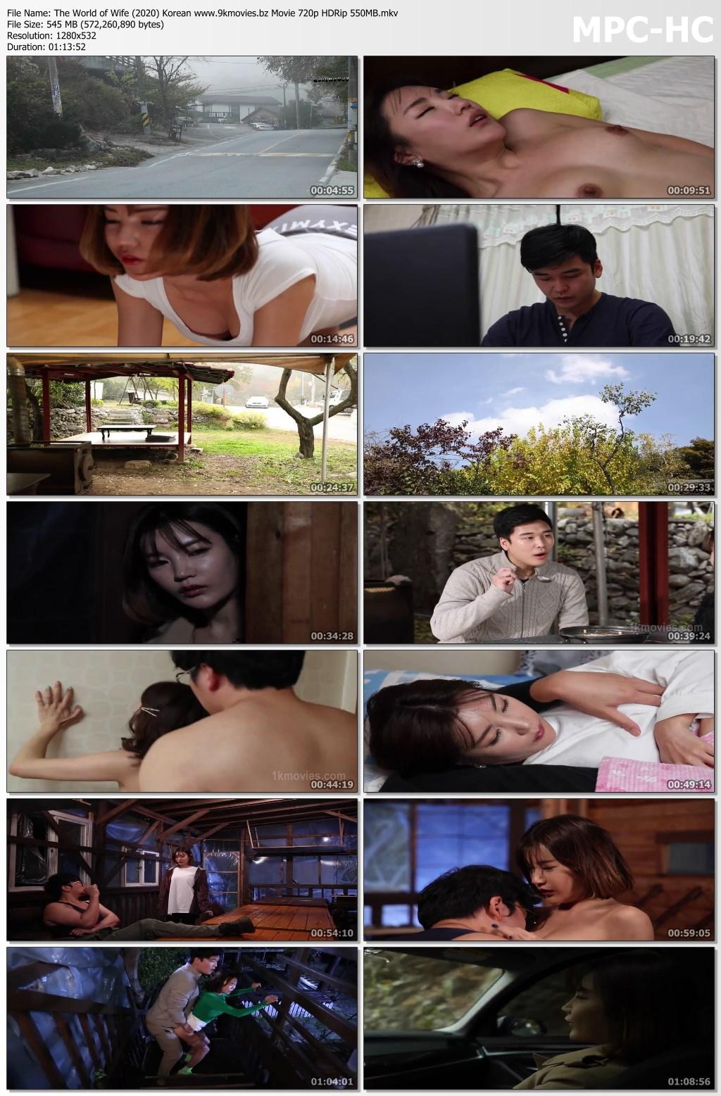 The World of Wife (2020) Korean www.9kmovies.bz Movie 720p HDRip 550MB.mkv thumbs