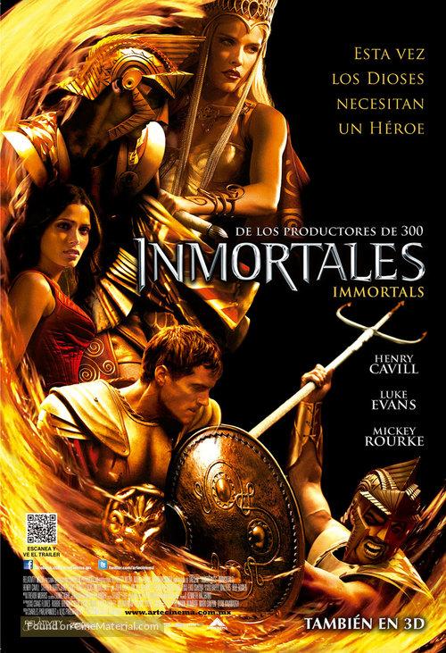 Immortals 2011 Dual Audio Hindi ORG 450MB BluRay ESub Download