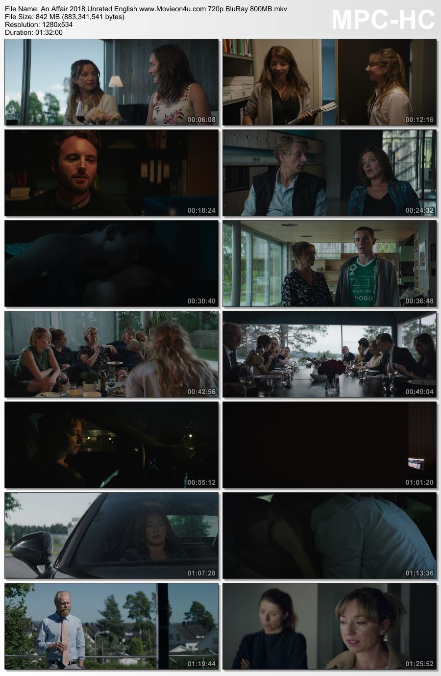 An Affair 2018 Unrated English 720p BluRay x264 800MB Download HD