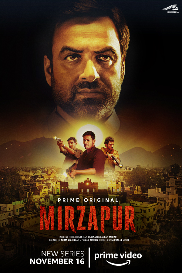Mirzapur S01 2018 Hindi Complete Amazon Web Series 1.4GB HDRip ESub Download
