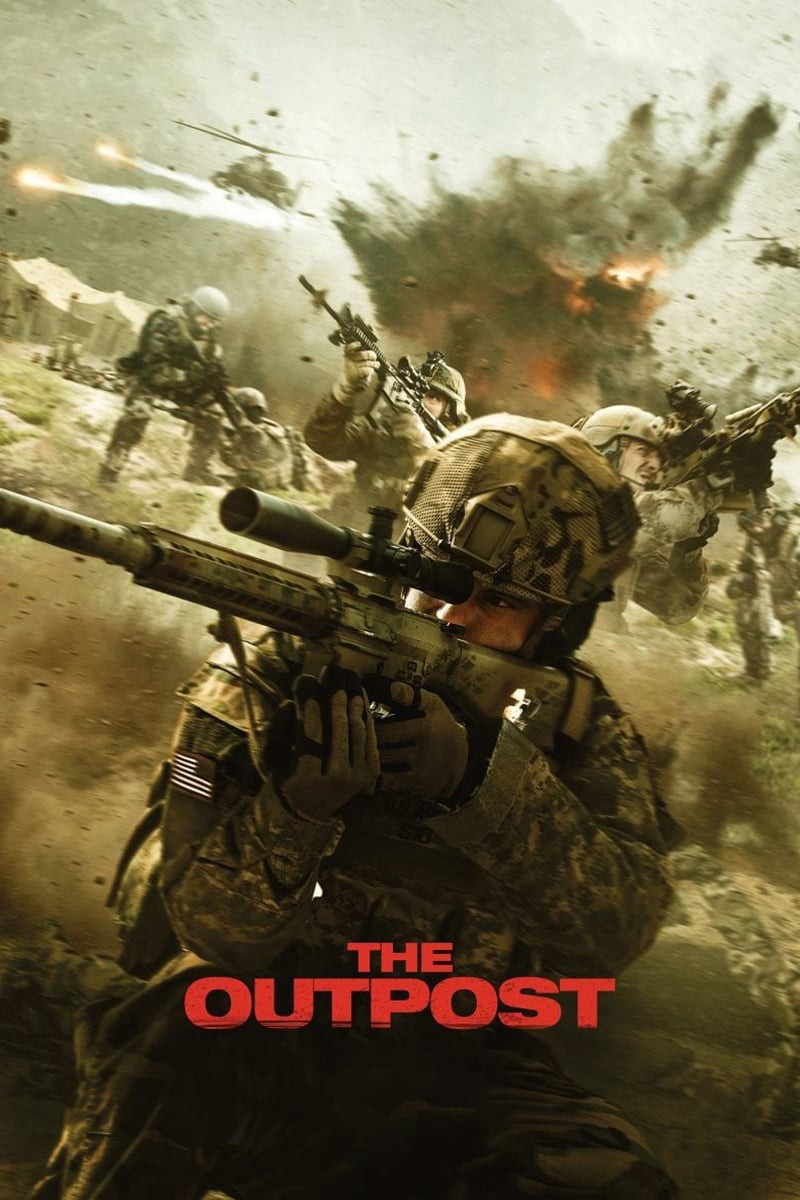 The Outpost 2020 English Full Movie 720p HDRip ESub 900MB Download