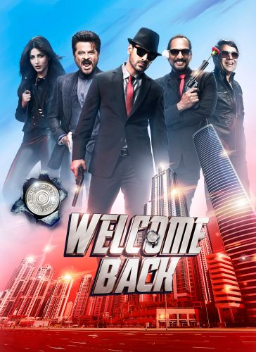 Welcome Back 2015 Hindi Movie 450MB BluRay 480p Download