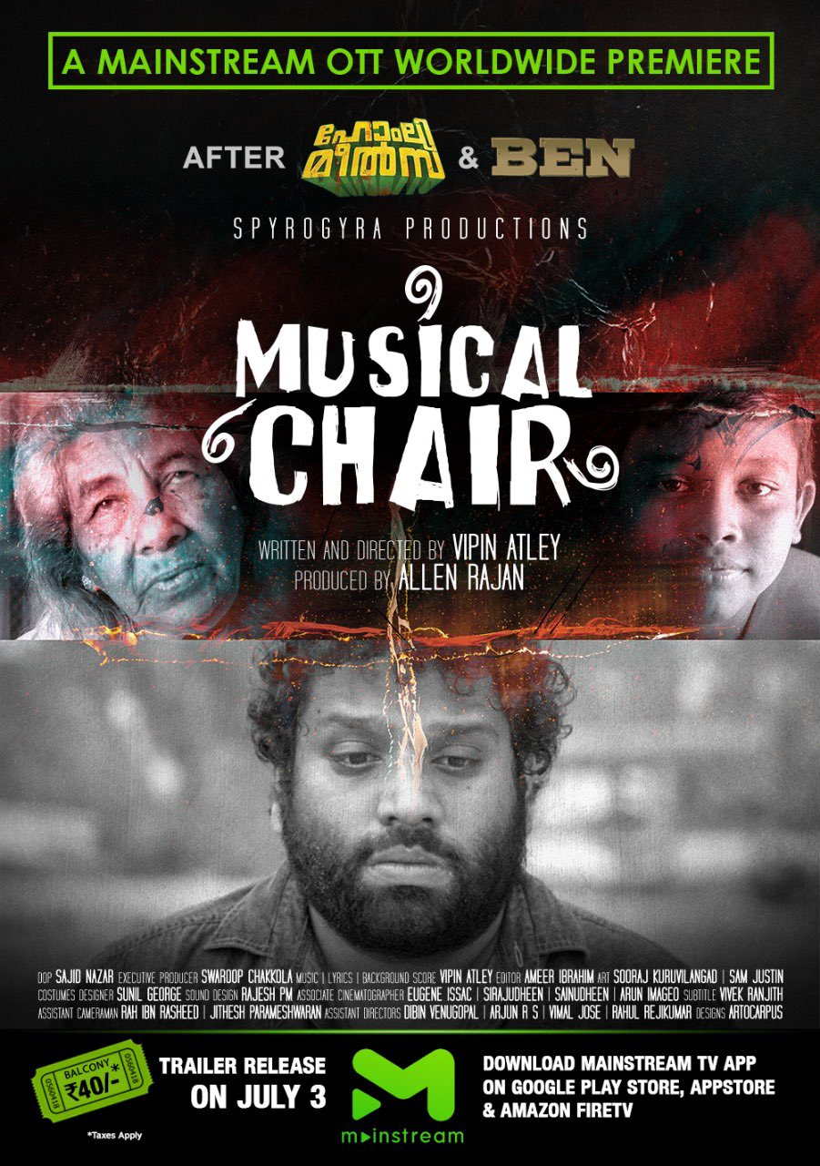 Musical Chair 2020 Malayalam 400MB HDRip Download
