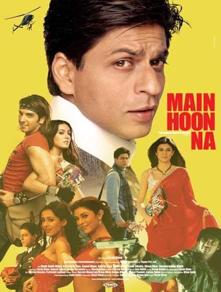 Main Hoon Na 2004 Hindi Movie 500MB BluRay 480p Download