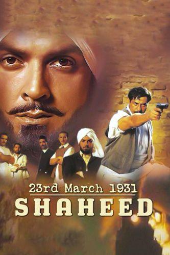23rd March 1931 Shaheed 2002 Hindi 720p HDRip 1.2GB Download