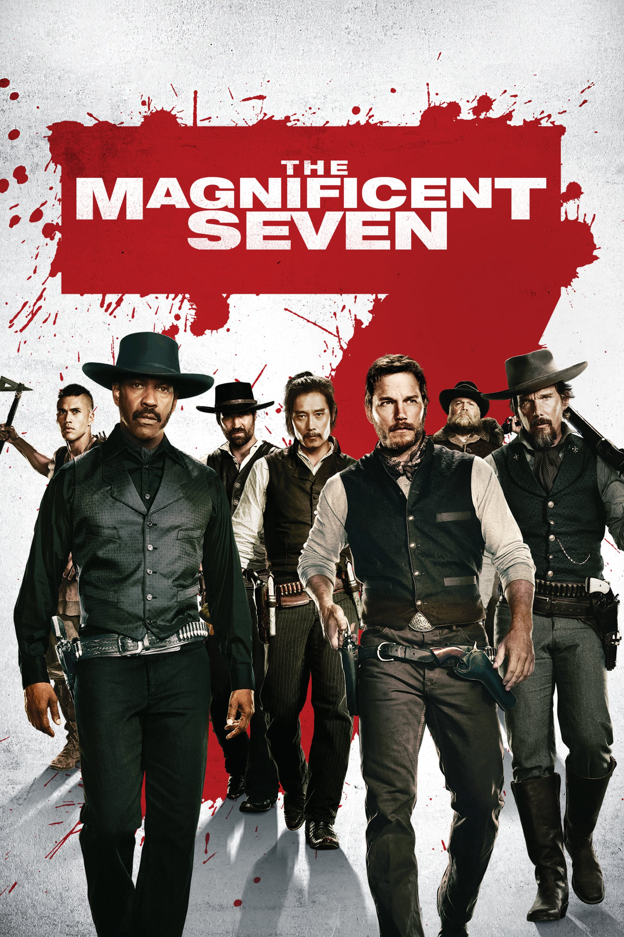 The Magnificent Seven 2016 Hindi Dual Audio 720p BluRay 983MB ESubs Download
