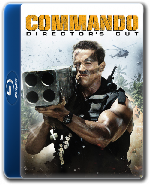 Commando 1985 Directors Cut Hindi Dual Audio 300MB BluRay ESubs Download