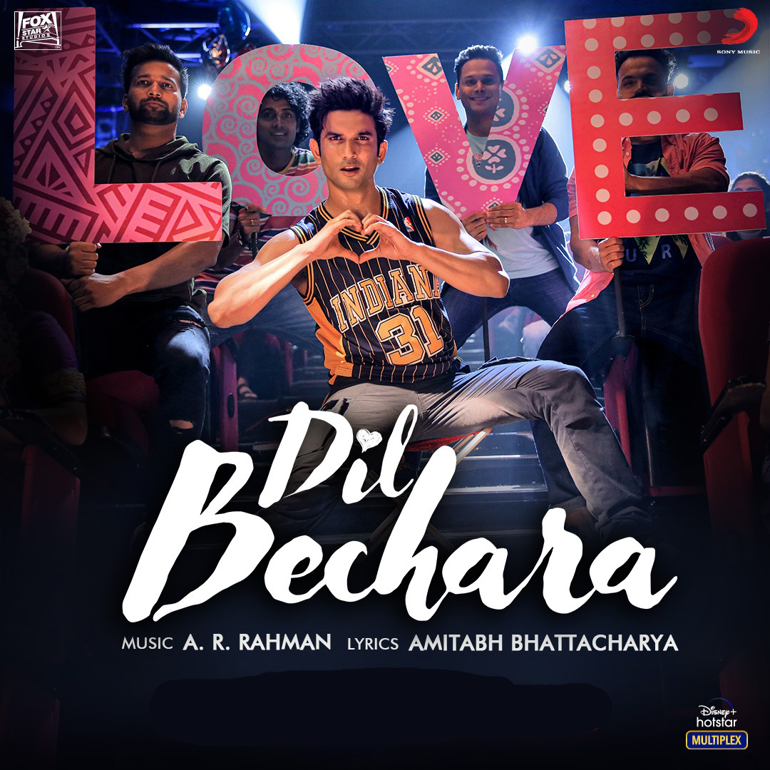 Dil Bechara (Title Track) 2020 Hindi Video Song 1080p HDRip 83MB Download