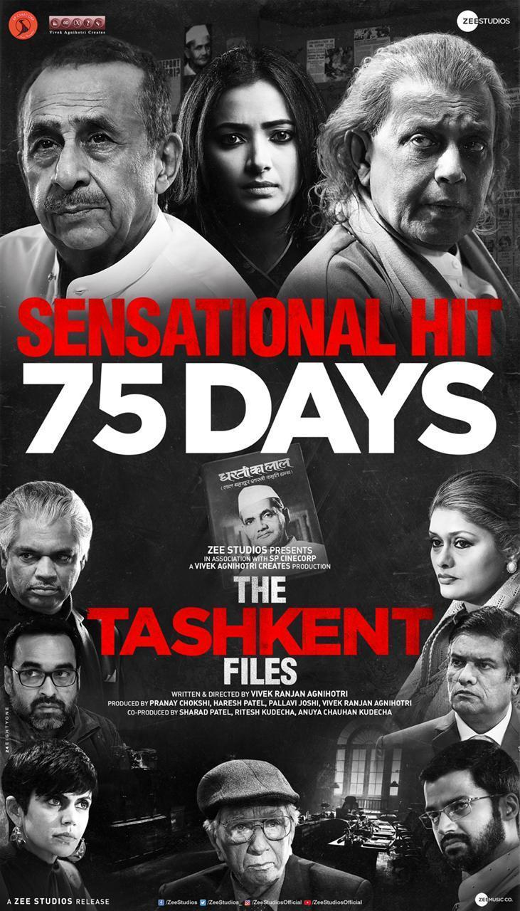 The Tashkent Files 2019 Hindi Movie 1080p HDRip ESub 3GB Download