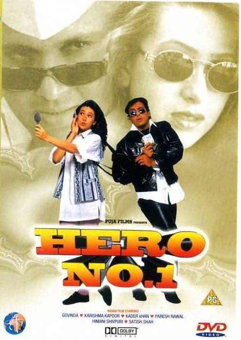 Hero No. 1 (1997) Hindi Movie 400MB HDRip ESubs Download