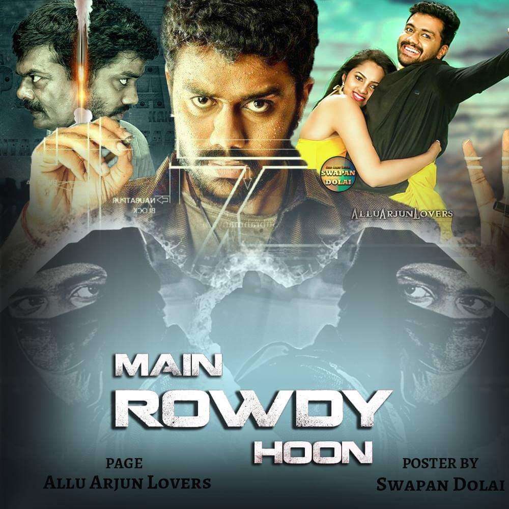 Main Rowdy Hoon (Naa Pantaa Kano) 2020 Hindi Dubbed 720p HDRip 500MB *ORG*