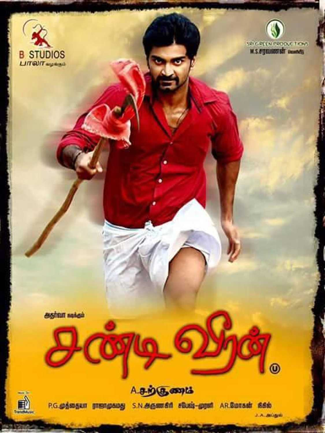 Chandi Veeran (Vilayati Hero) (2015) UNCUT 480p HDRip [Dual Audio] [Hindi or Tamil] 400MB x264 AAC