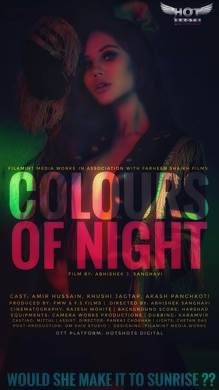 18+ Colours of Night 2020 HotShots Originals Hindi Short Film 720p HDRip 120MB x264 AAC