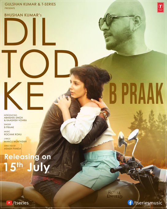 Dil Tod Ke By B Praak Official Hindi Video Song 1080p HDRip Download