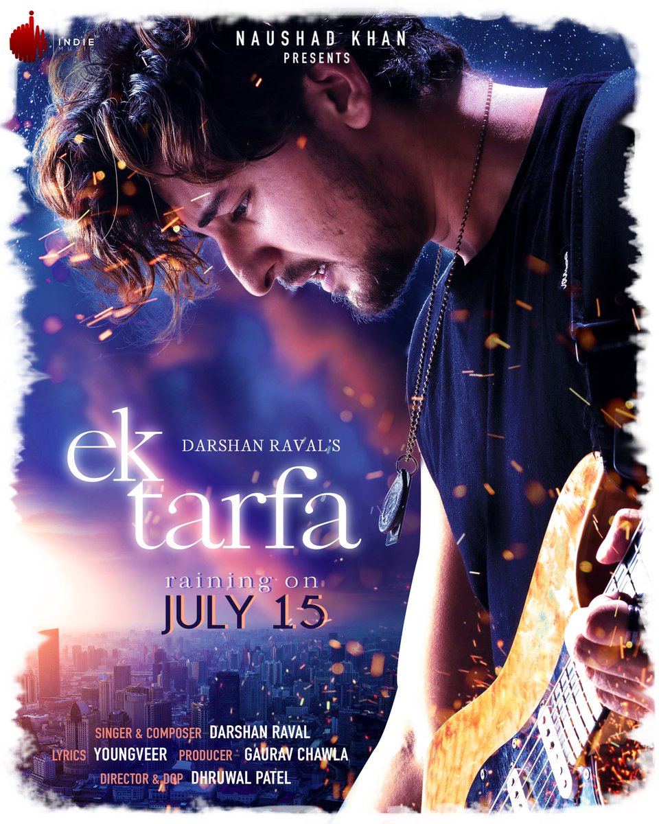 Ek Tarfa By Darshan Raval Official Music Video 1080p HDRip 50MB Download