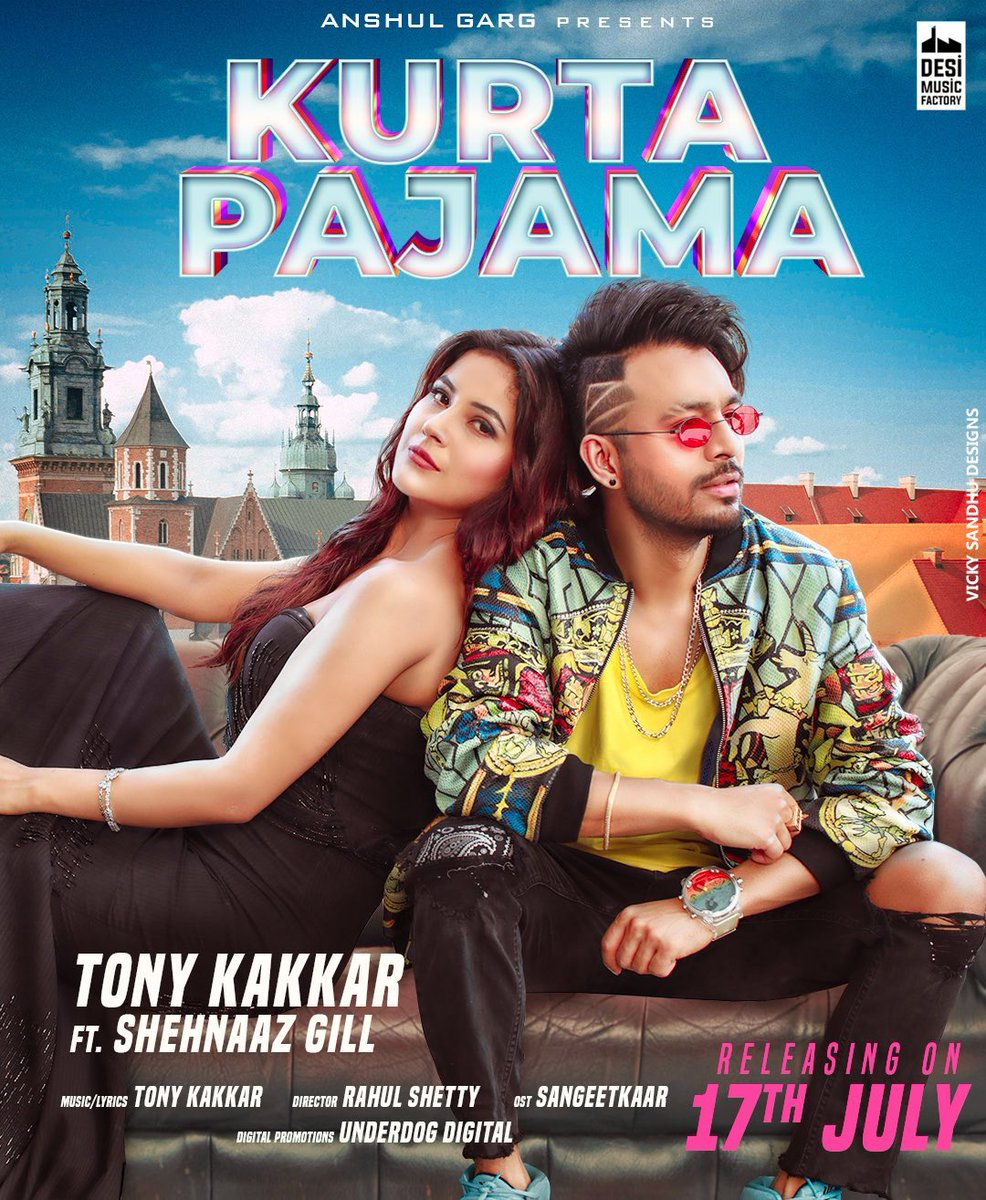 Kurta Pajama By Tony Kakkar Official Hindi Video Song 1080p HDRip Download