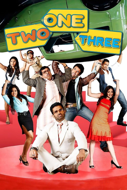 One Two Three 2008 Hindi Movie 720p HDRip 900MB ESubs Download