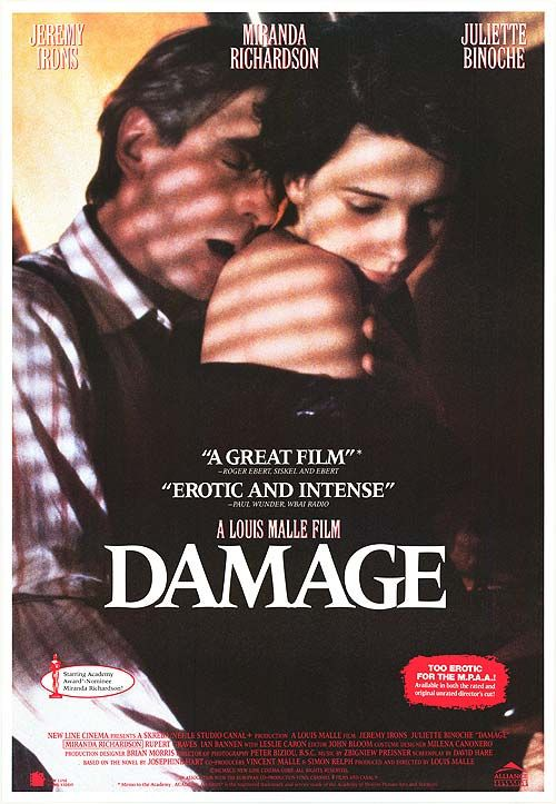 18+ Damage 1992 English 720p BluRay 650MB Download