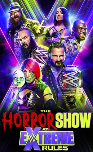WWE Extreme Rules 2020 English The Horror Show 720p HDRip 950MB | 450MB Download