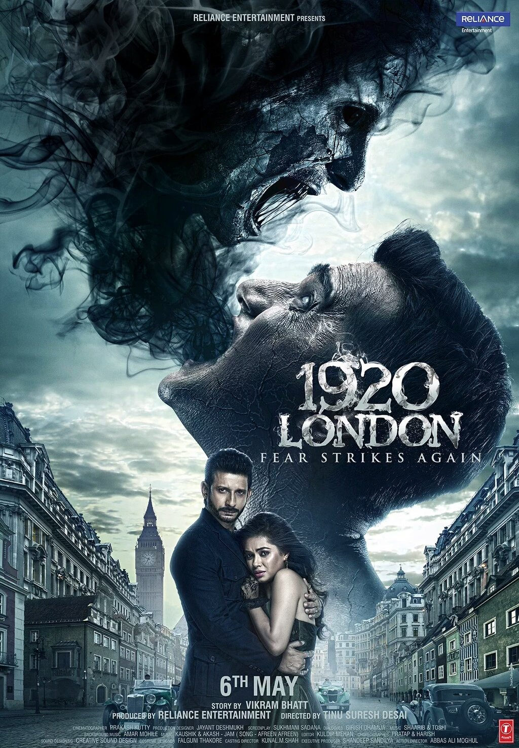 1920 London 2016 Hindi 720p HDRip 700MB ESubs Download