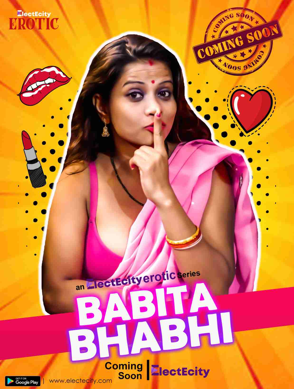 18+ Babita Bhabhi 2020 S01E03 Hindi ElectEcity Original Web Series 720p HDRip 150MB x264 AAC
