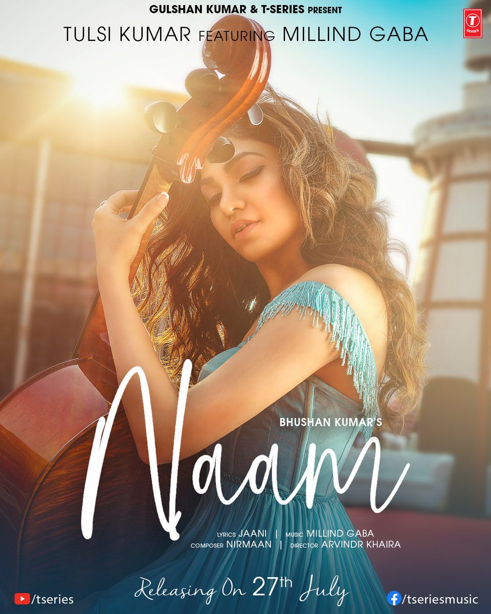 Naam By Tulsi Kumar Feat. Millind Gaba Official Video Song 1080p HDRip Download
